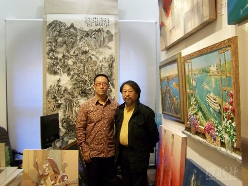 Master JiaWei Shen at John Chen Gallery.