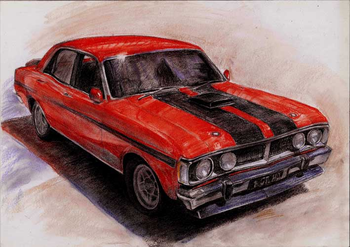 John Chen Gallery Drawing Or Painting Of Your Motor Vehicle